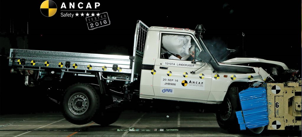 Five-star ANCAP rating for Toyota LandCruiser 70 series