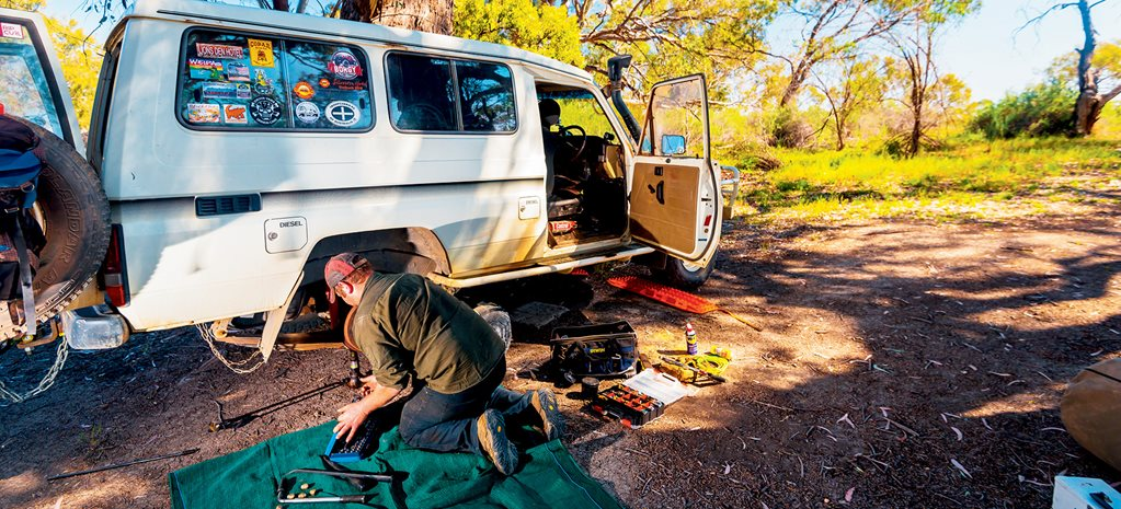 Outback breakdown: What to do?