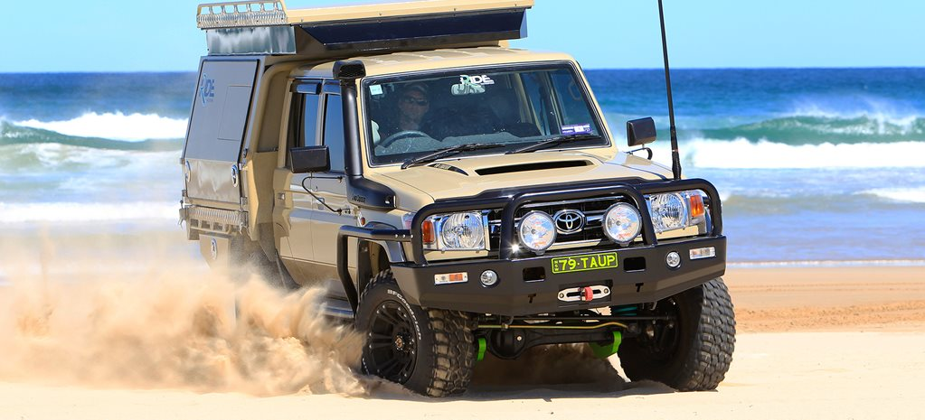 Custom Toyota LandCruiser 79: Video review
