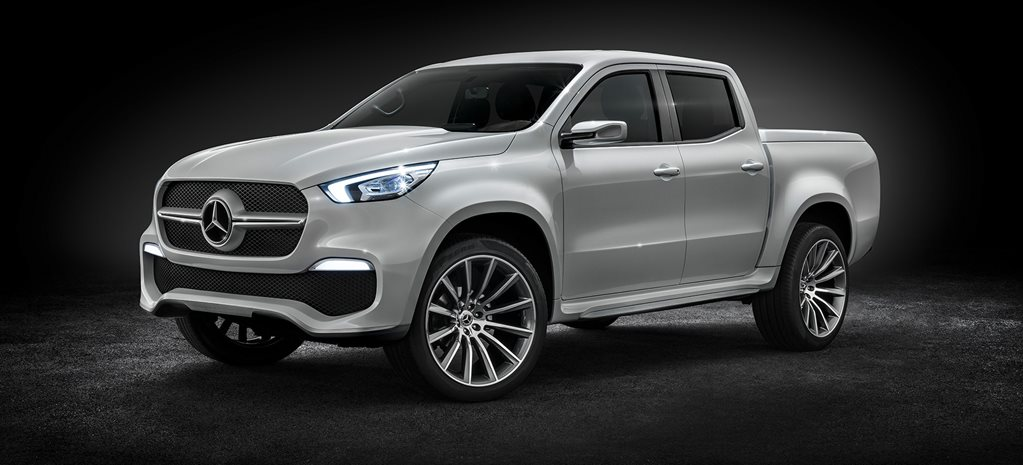 2018 Mercedes-Benz X-Class ute: Production model