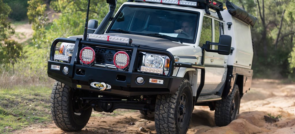 Patriot Campers' Toyota LandCruiser 79 Series build goes global