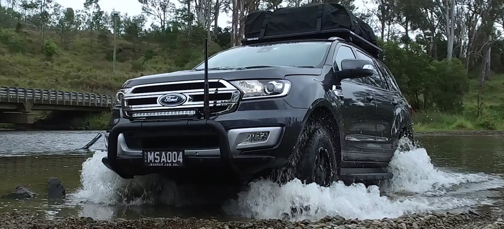 Custom MSA 4X4 Ford Everest: Video review