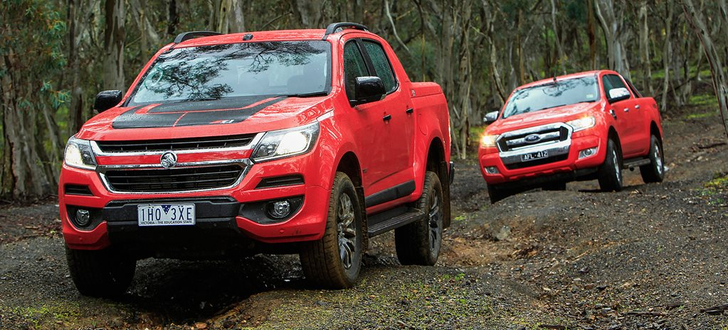 Holden Colorado Z71 vs Ford Ranger XLT comparison review
