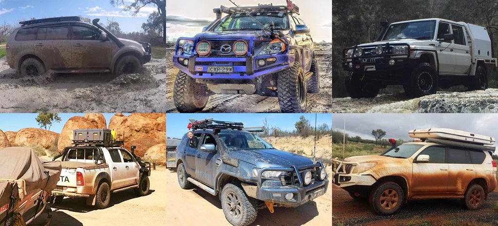 Readers' 4x4s: Everest, BT-50, LandCruiser