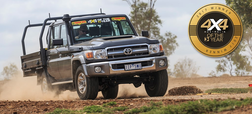 2017 4X4OTY Winner: Toyota LandCruiser 79 Double Cab