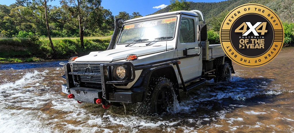 2017 4X4OTY #5: Mercedes-Benz G-Professional G300 Cab Chassis