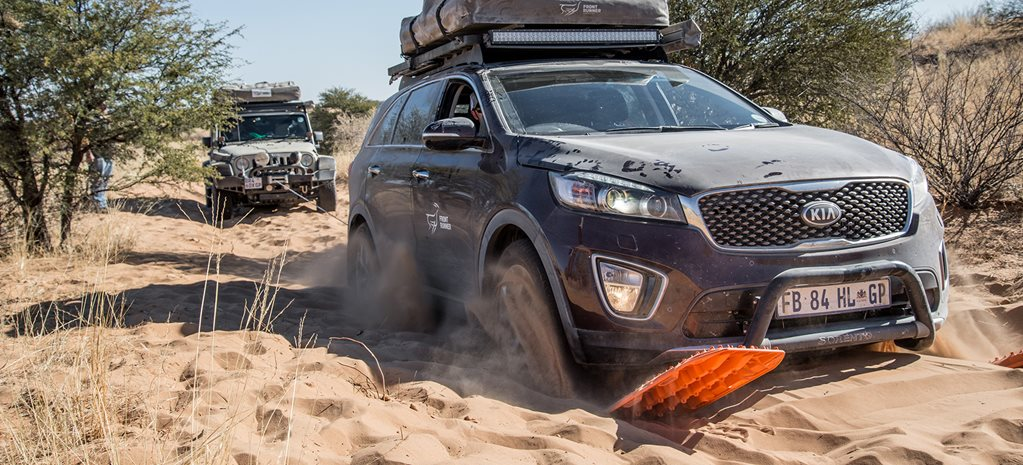 Front Runner-kitted Kia Sorento tackles the Savannah