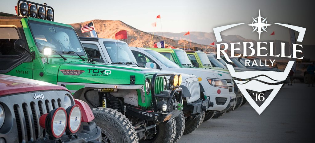 2016 Rebelle Rally, USA: 4x4 event