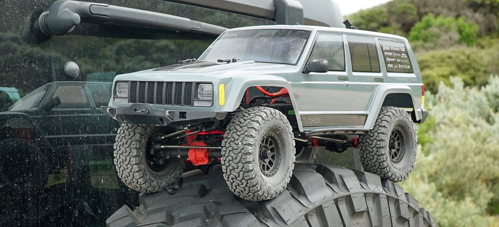 Axial SXC10 II Jeep Cherokee cover