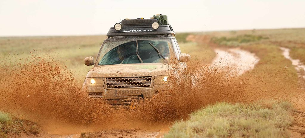 Range Rover Hybrid - India to Nepal drive