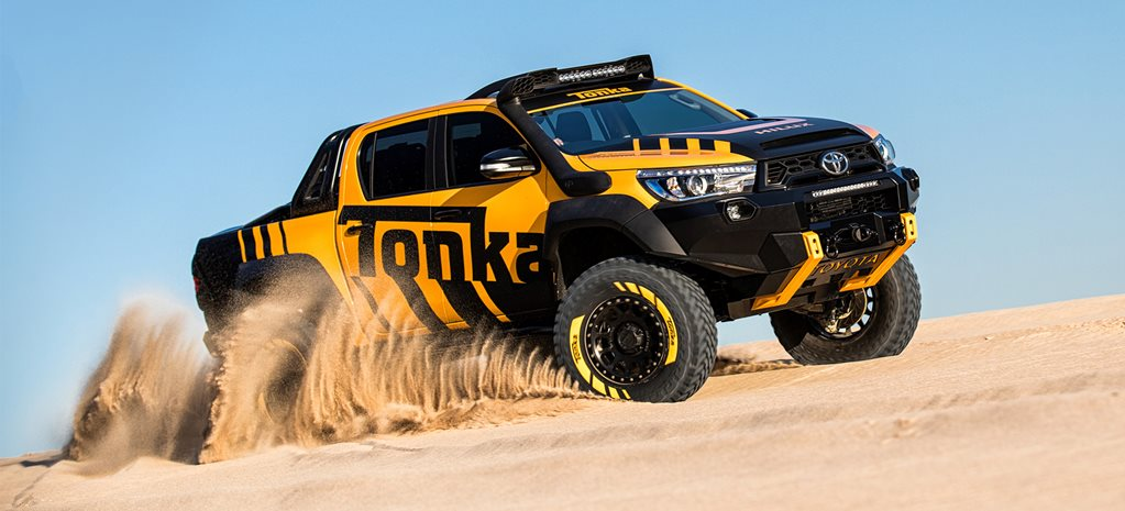 Toyota Hilux Tonka Concept revealed cover
