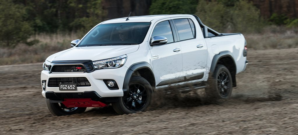 TRD Toyota Hilux cover