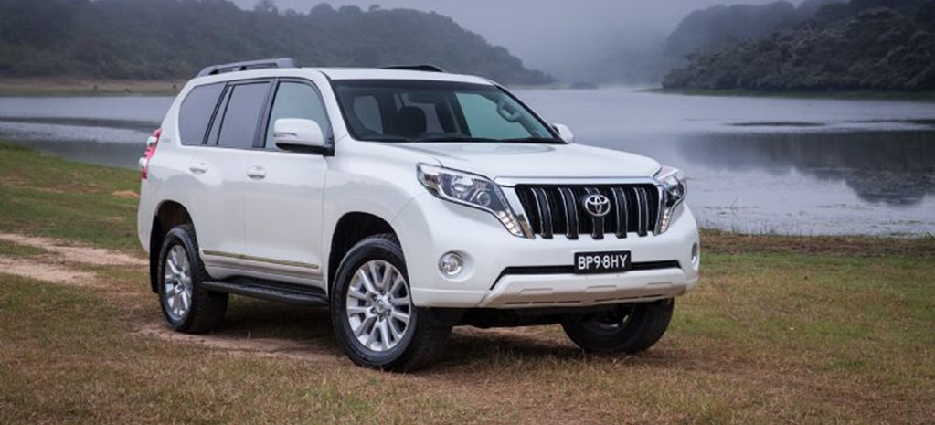 Toyota Land Cruiser Prado Altitude special edition announced cover