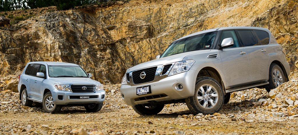 Nissan Patrol Ti vs Toyota Land Cruiser 200 GXL 4x4 Comparison