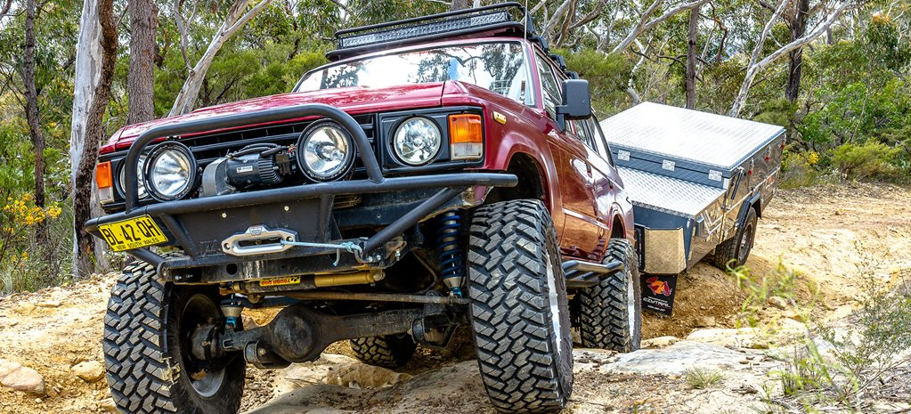 Toyota Land Cruiser 60 Series gets chopped 1