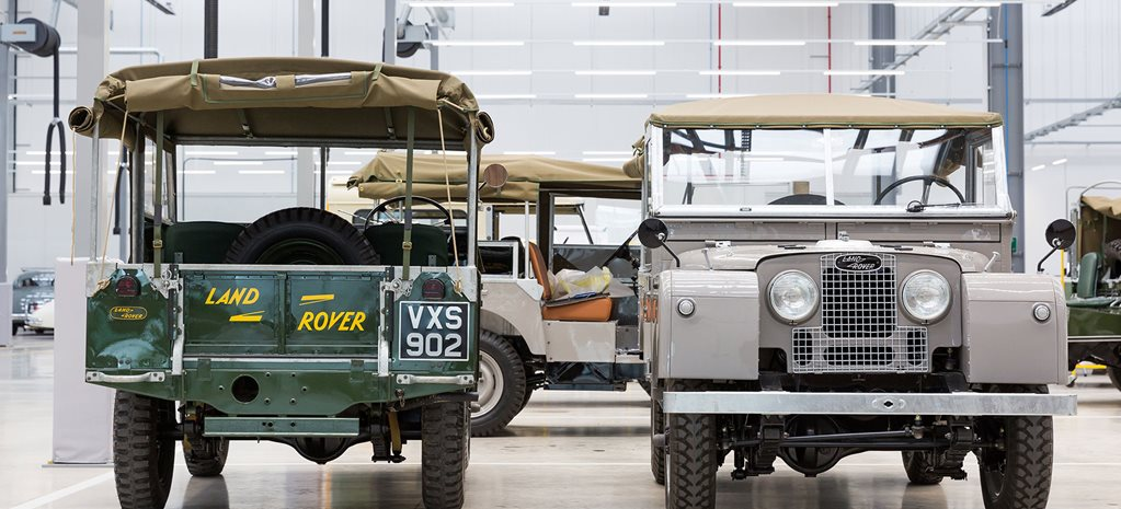 Jaguar Land Rover in Classic Works factory