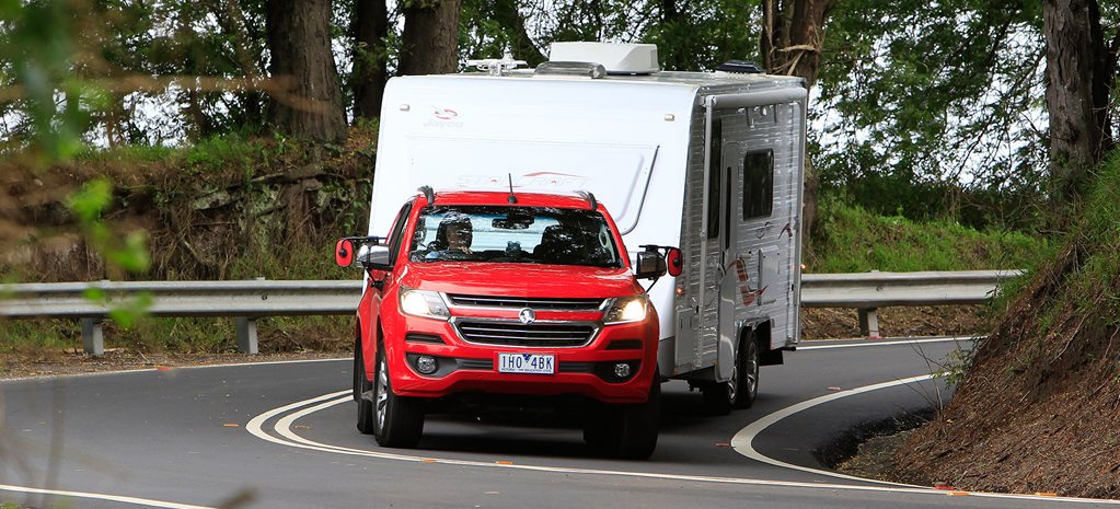 Holden Trailblazer LTZ 2017 Tow Test