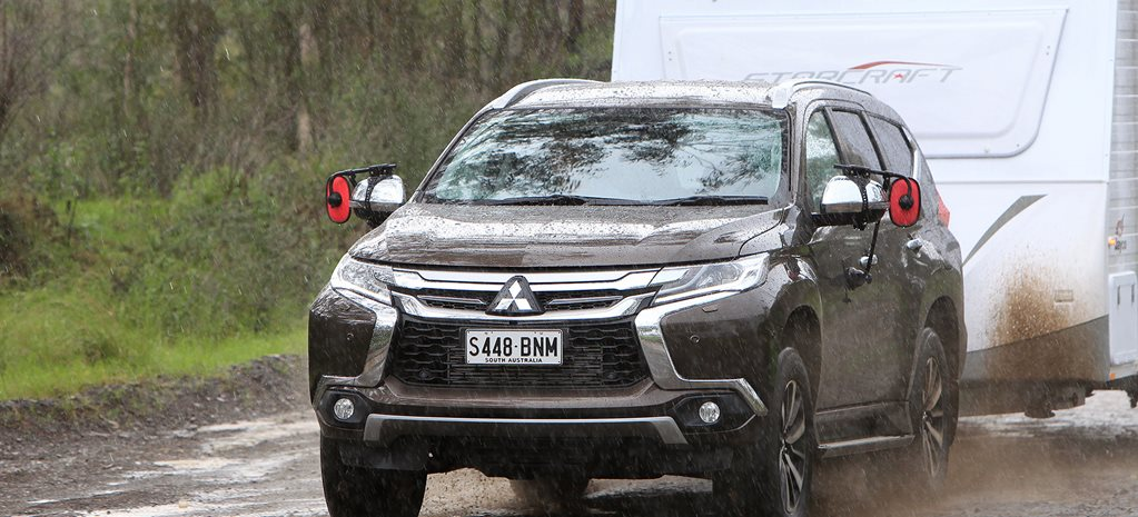 2017 Mitsubishi Pajero Sport Exceed Towing