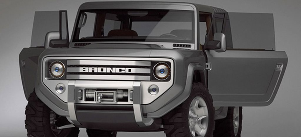 2004 Ford Bronco Concept Movie