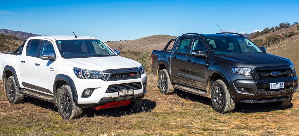 2017 Toyota Hilux TRD vs 2017 Ford Ranger FX4 comparison review