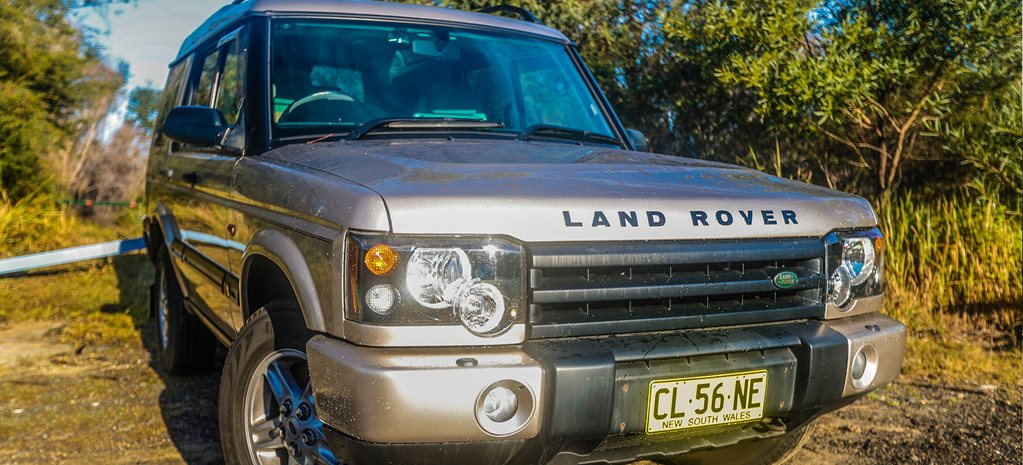 2003 Land Rover Discovery TD5 joins the shed