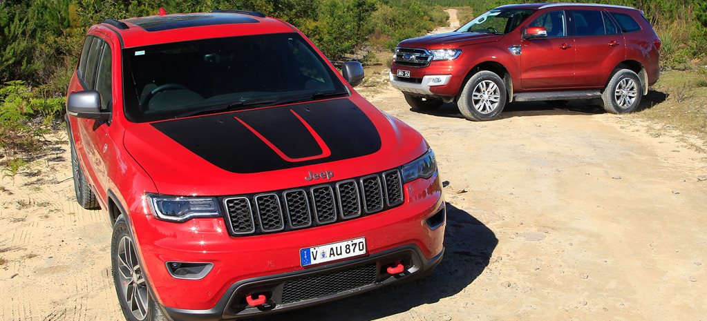 2017 Jeep Grand Cherokee Trailhawk vs 2017 Ford Everest Trend main