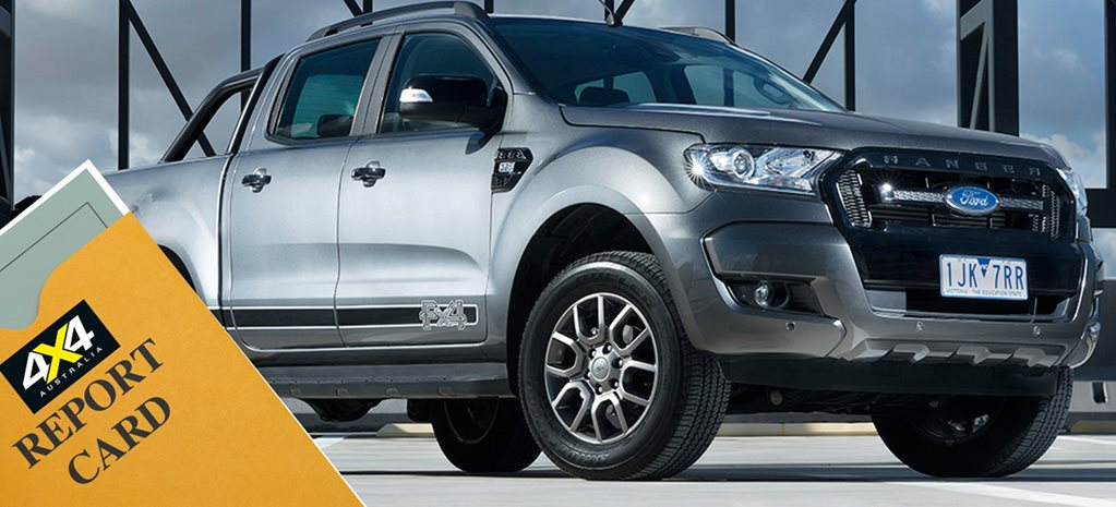 Ford Ranger Report Card