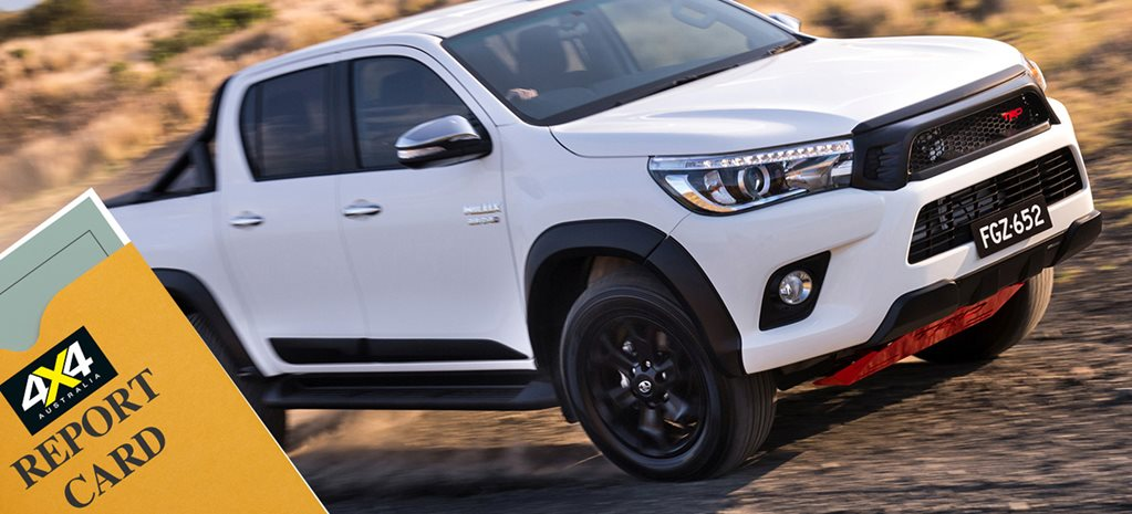 Toyota Hilux sale report card