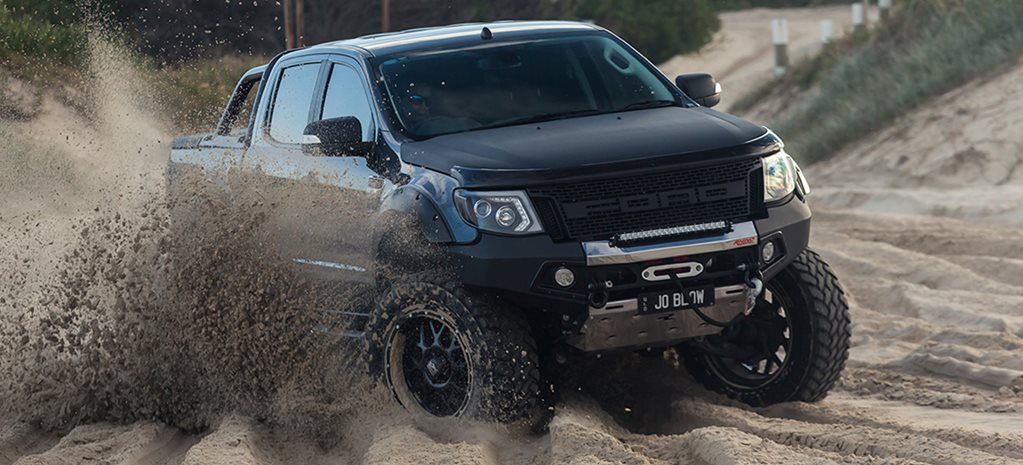 Custom supercharged Ford V8 Ranger offroad