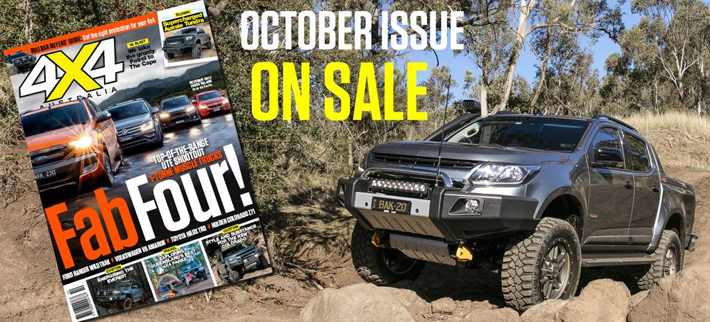 4X4 AUSTRALIA OCTOBER ISSUE