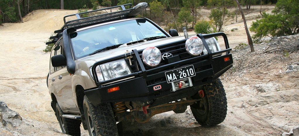 100 Series Toyota LandCruiser custom MAIN