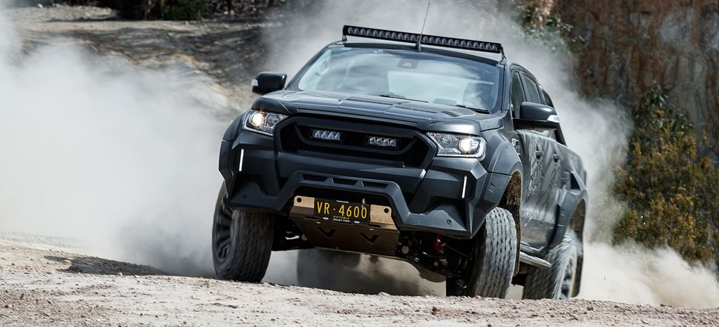 VR46 Ford Ranger tested