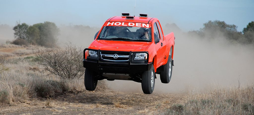 Holden Rally Team Colorado V8 custom main