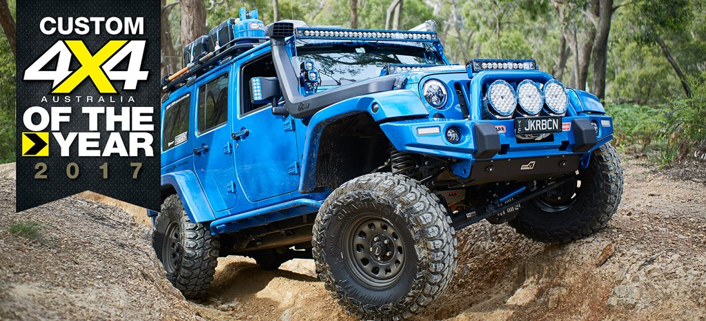 Supercharged JKU Jeep Wrangler main