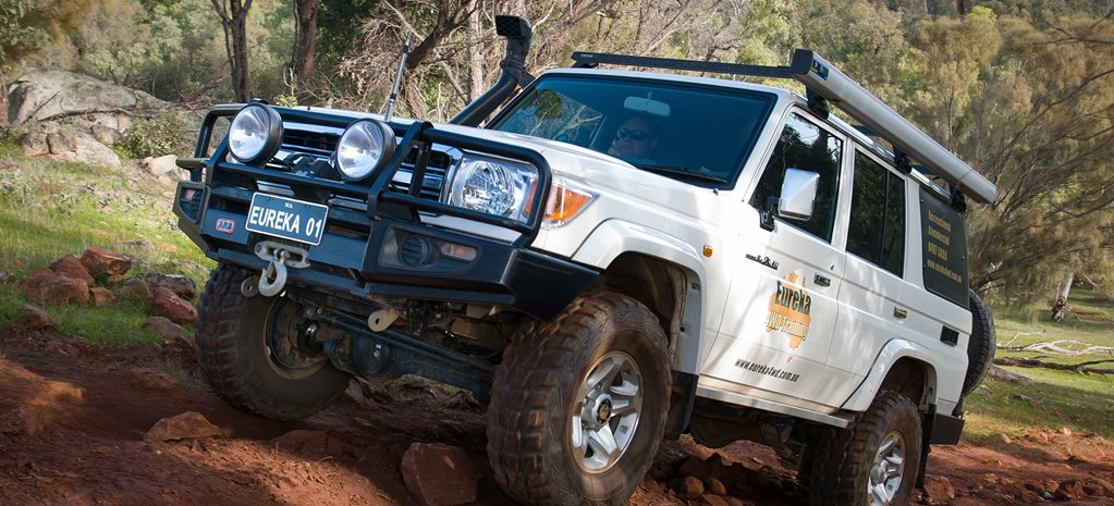 2010 Toyota Land Cruiser 76 Series front