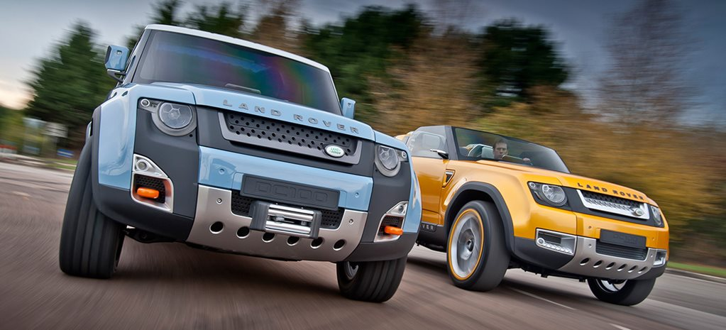 Land Rover Defender Concept main