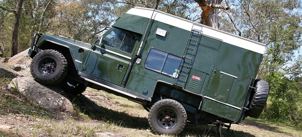 1982 Land Rover camper MAIN