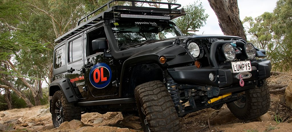 Opposite Lock equipped Jeep Rubicon main