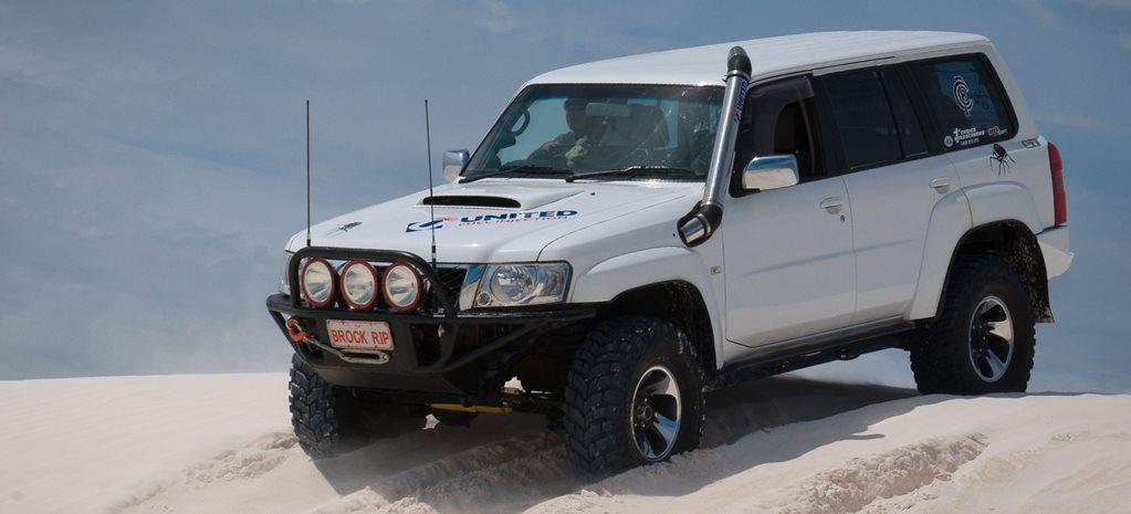 Custom 2007 Nissan GU Patrol review