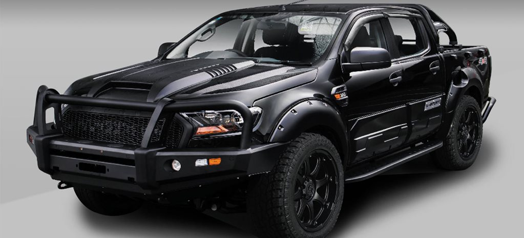 EFS 4x4 Accessories' Ford Ranger kit.