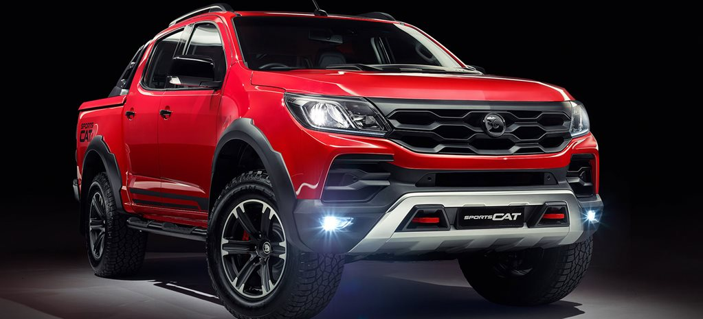 Holden Colorado SportsCar by HSV unveiled