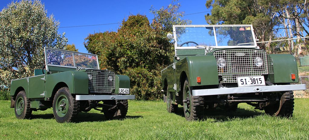 custom 4x4 land rover series 1 miniature