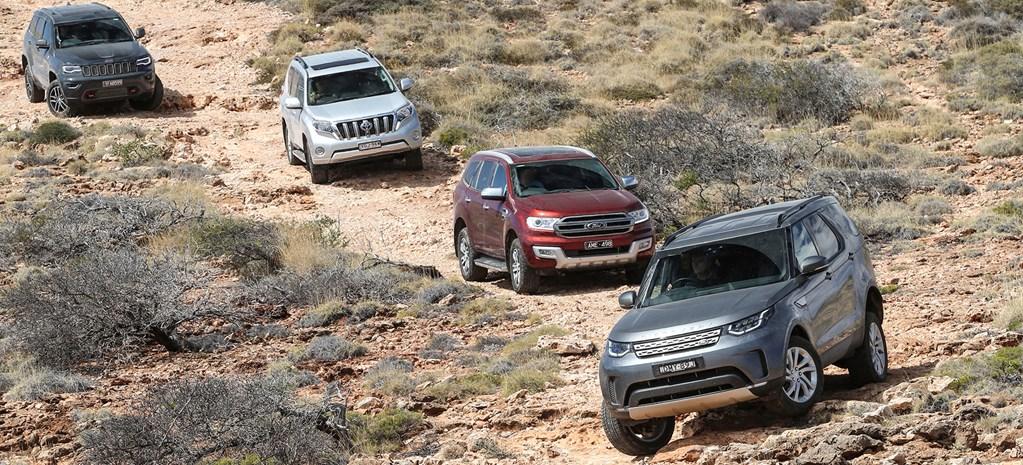 4x4 wagon comparison: Everest v Trailhawk v Discovery v Prado