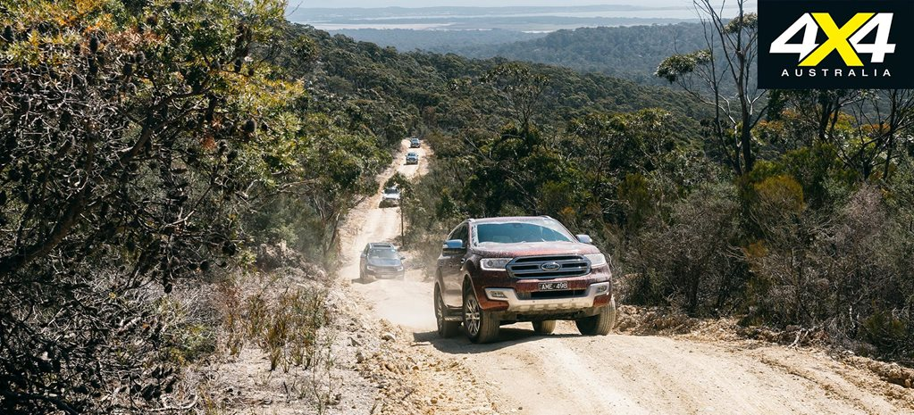Exploring Tasmania with the Ford Everest