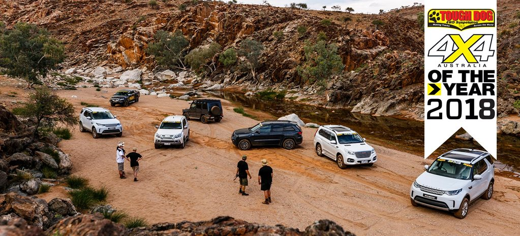 4x4 of The Year 2018 contenders group