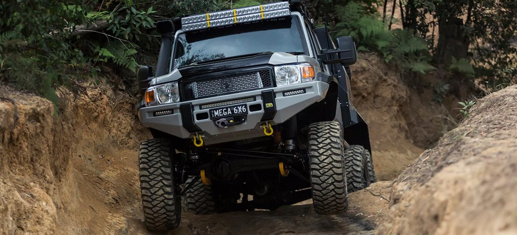 Patriot Campers 6x6 LC79 wins the 2017 Custom 4x4 of the Year