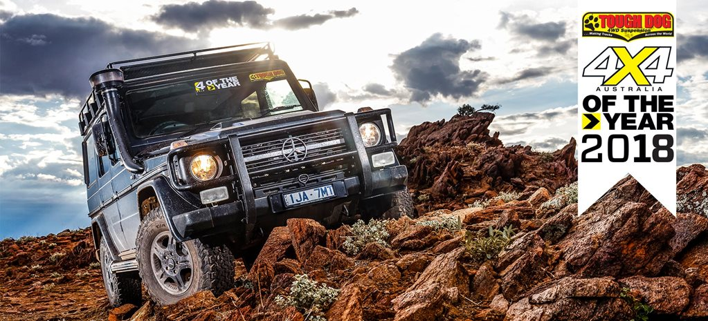 4x4 of The Year 2018 5 Mercedes Benz G300 Professional