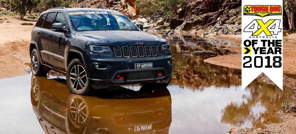 4x4 of The Year 2018 3 Jeep Grand Cherokee Trailhawk