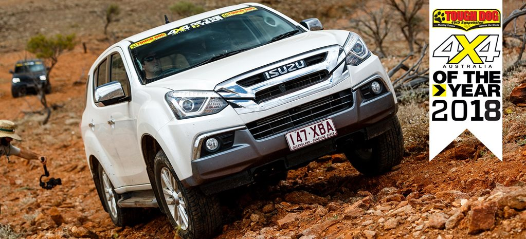 4x4 of The Year 2018 2 Isuzu MUX 4x4oty2018