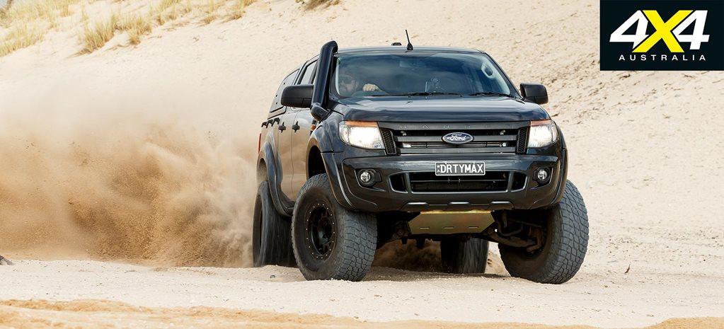 Custom Ford Ranger Duramax V8 Review